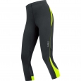 ESSENTIAL LADY Tights 3/4 - Black / Neon Yellow
