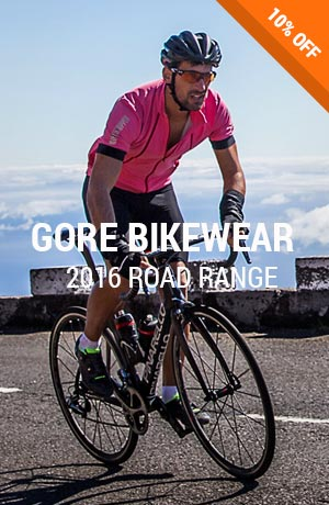 Receive 10% off new season Gore Bike Wear at TG Store