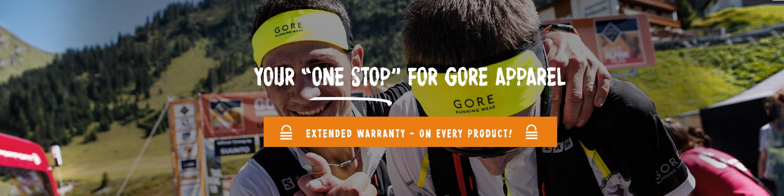 Gore Running Wear trail running at TG Store