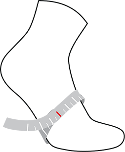 Gore sock size measurements