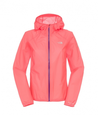 WOMENS FEATHER LITE STORM BLOCKER JACKET - Rocket Red