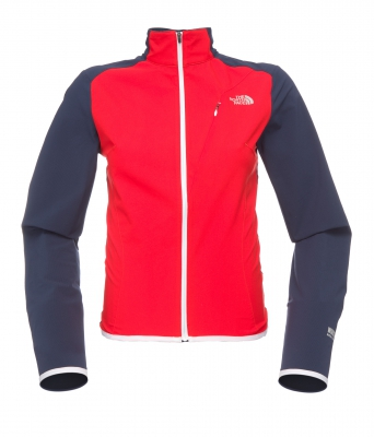 WOMENS PUDDLE JACKET - FIERY RED