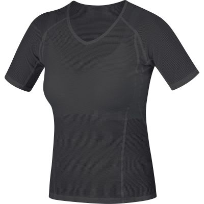 GORE® M Women Base Layer Shirt - Black