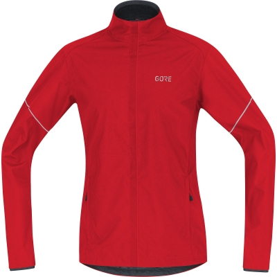 GORE® R3 Partial GORE® WINDSTOPPER® Jacket - Red