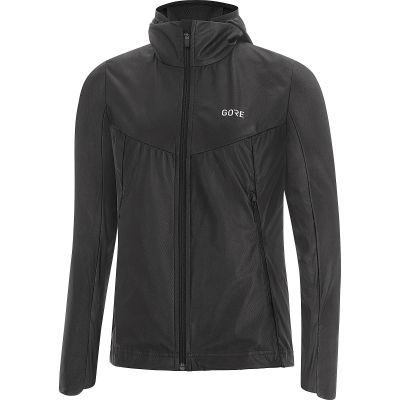 GORE® R5 Women GORE-TEX INFINIUM™ Soft Lined Hooded Jacket - Black