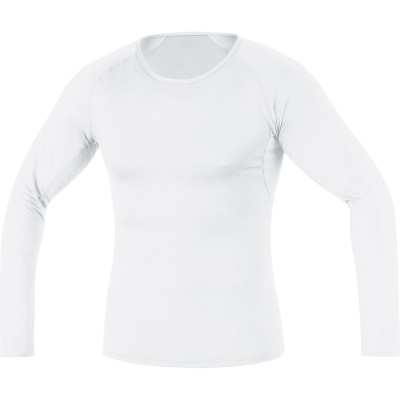 GORE® M Base Layer Thermo Long Sleeve Shirt - White