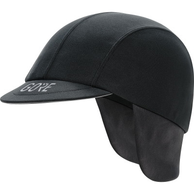 GORE® C5 GORE® WINDSTOPPER® Road Cap - Black