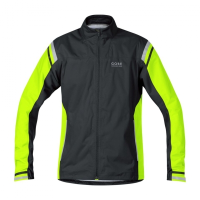 MYTHOS 2.0 GT AS Jacket - Black / Neon Yellow