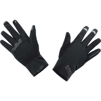 POWER GWS Gloves - Black