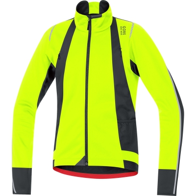 OXYGEN WS SO Jacket - Neon Yellow / Black