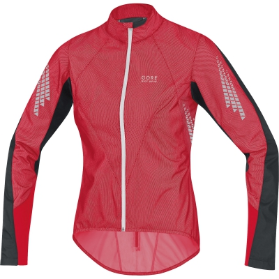 XENON 2.0 AS LADY Jacket - Rich Red / Black / White