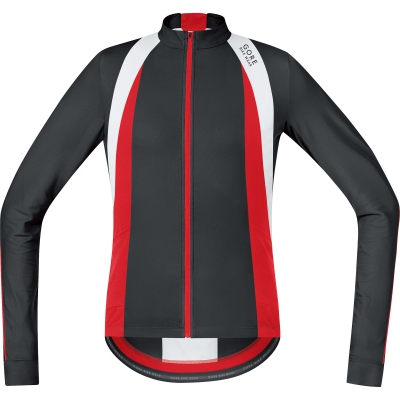 OXYGEN Jersey Long - Black / Red / White