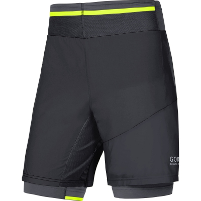 FUSION 2in1 Shorts - Black