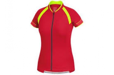 POWER 3.0 Lady Jersey - Rich Red / Neon Yellow