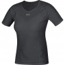GORE® M Women GORE® WINDSTOPPER® Base Layer Shirt - Black