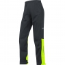 GORE® C3 GORE-TEX Active Pants - Black / Neon Yellow