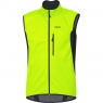 GORE® C3 GORE® WINDSTOPPER® Vest - Neon Yellow / Black
