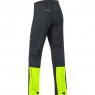 GORE® C3 GORE® WINDSTOPPER® Pants - Black / Neon Yellow