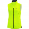 GORE® R3 Women GORE® WINDSTOPPER® Vest - Neon Yellow