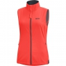GORE® R3 Women GORE® WINDSTOPPER® Vest - Lumi Orange