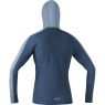GORE® R3 Women Hoodie - Deep Water Blue / Cloudy Blue