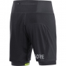 GORE® R7 2in1 Shorts - Black