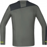 GORE® R7 Long Sleeve Shirt - Castor Grey / Black