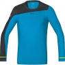 GORE® R7 Long Sleeve Shirt - Dynamic Cyan / Black