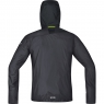 GORE® R7 GORE® WINDSTOPPER® Light Hooded Jacket - Terra Grey / Black