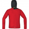 GORE® R7 GORE® WINDSTOPPER® Light Hooded Jacket - Red / Black
