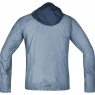 GORE® R7 GORE® WINDSTOPPER® Light Hooded Jacket - Cloudy Blue / Deep Water Blue