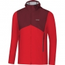 GORE® R3 GORE® WINDSTOPPER® Hooded Jacket - Red / Chestnut Red