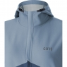 GORE® R3 GORE® WINDSTOPPER® Hooded Jacket - Deep Water Blue / Cloudy Blue