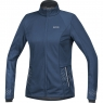 GORE® R5 Women GORE® WINDSTOPPER® Jacket - Deep Water Blue