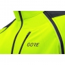 GORE® C3 GORE® WINDSTOPPER® PHANTOM Zip-Off Jacket - Neon Yellow / Black