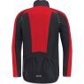 GORE® C3 GORE® WINDSTOPPER® PHANTOM Zip-Off Jacket - Black / Red