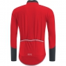 GORE® C5 GORE® WINDSTOPPER® Long Sleeve Jersey - Red