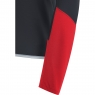 GORE® C5 GORE® WINDSTOPPER® Long Sleeve Jersey - Black / Red