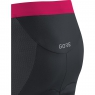 GORE® C7 Women CC Short Tights+ - Black / Dynamic Cyan