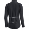GORE® C5 Women GORE® WINDSTOPPER® Zip-Off Jersey - Black