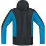 GORE® C5 GORE-TEX® Active Trail Hooded Jacket - Black / Dynamic Cyan