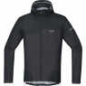 GORE® C5 GORE-TEX Active Trail Hooded Jacket - Black / Terra Grey