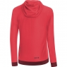 GORE® C5 Women GORE® WINDSTOPPER® Trail Hooded Jacket - Hibiscus Pink / Chestnut Red