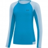 GORE® R5 Women Long Sleeve Shirt - Dynamic Cyan / Ciel Blue