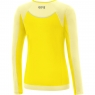 GORE® R5 Women Long Sleeve Shirt - Solar Yellow / Light Yellow