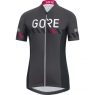 GORE® C3 Women Brand Jersey - Raven Brown / Black
