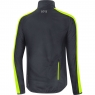 GORE® C3 GORE® WINDSTOPPER® Jacket - Black / Neon Yellow