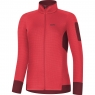 GORE® M Women Thermo Shirt - Hibiscus Pink / Chestnut Red