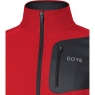 GORE® R3 Partial GORE® WINDSTOPPER® Shirt - Red / Black