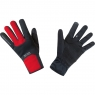 GORE® M GORE® WINDSTOPPER® Thermo Gloves - Black / Red